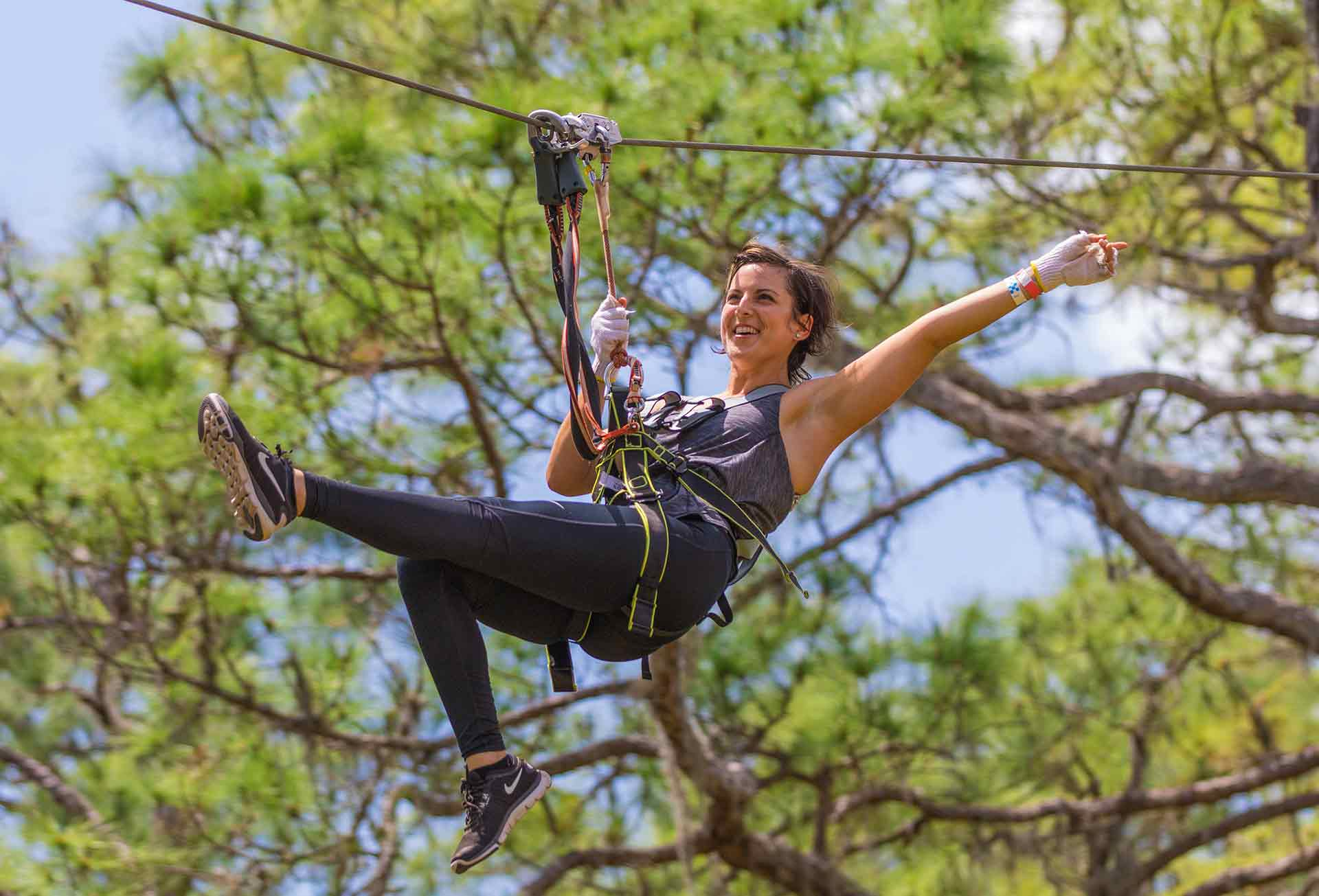 Visiting Tampa? TreeTop Adventures Are A Must! - People are always looking for new ways to have a good time. As a result, ziplining and treetop adventures are gaining in popularity.Read...