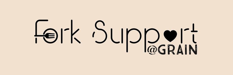 Fork Support @ Grain Craft bar + Kitchen