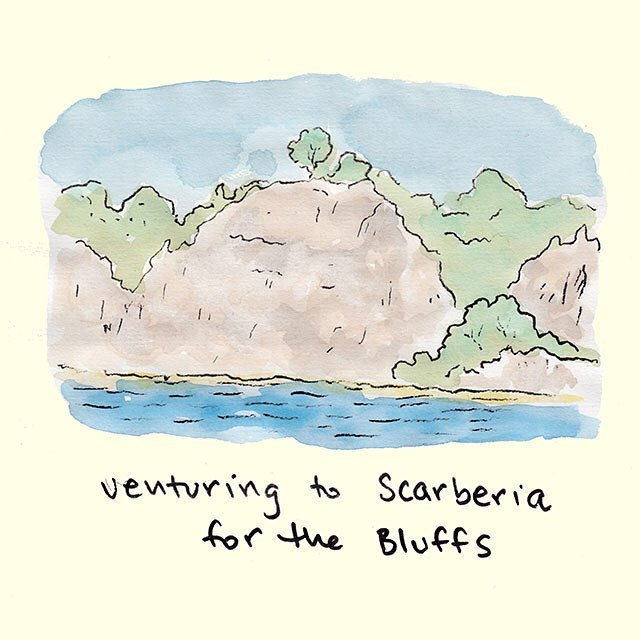 The 2-4 is an ideal day to Bluff it, just don't drunkenly stumble over the edge 🙈🍻 #toronto #bluffs #scarbs #yyz #the6 #scarberia #beachit #incanadawehaveaholidaynamedafterbeer