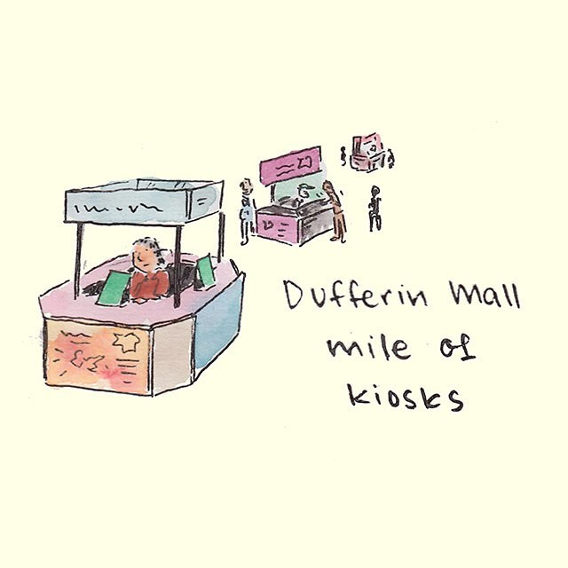 "Head on over to @themallwithitall, whose slogan literally used to be ""Dufferin Mall. Really?"" 😱💸 #toronto #everydayimdufferin #yyz #the6 #torontoshottestrealestate #getseen #theduff #getduffed"