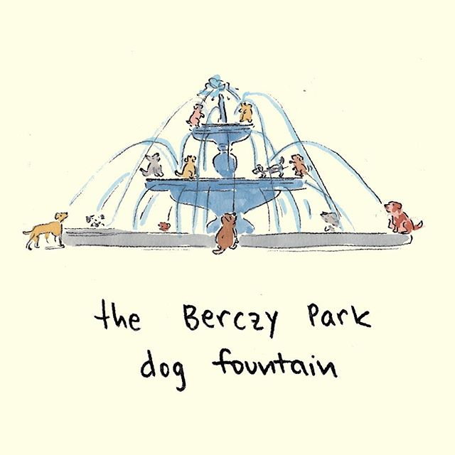 CRUCIALLY IMPORTANT ANNOUNCEMENT: the park behind the Flatiron is getting a fountain with 27 cast iron dog sculptures. That is all. 🐕⛲️ #toronto #dogfountain #canIRLdogsuseittho #askingthetoughquestions  #yyz #stlawrencemarket #the6