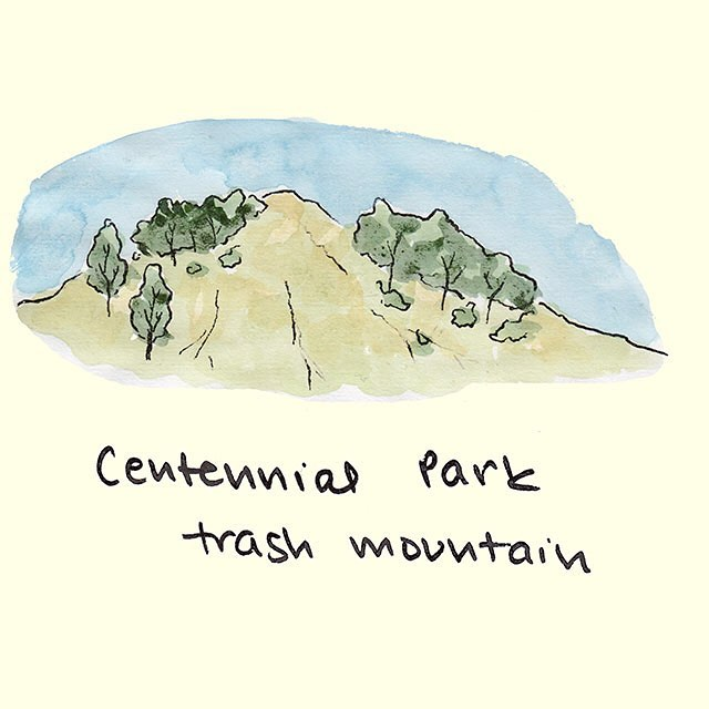 Toronto's biggest hill is made of old garbage, so is that why I feel like trash running up it? 😤🚮 PS: OUR SCAVENGER HUNT IS TOMORROW! Are you excited? We're excited. Get those team names in before midnight, friends! #toronto #the6 #yyz #trashmountain #worldsworstrollercoaster #literally #garbage