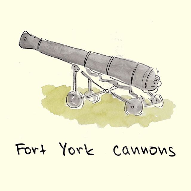 In the War of 1812, the garrison was stormed by General Zebulon Pike, which ISN'T the name of a @fieldtriplife act 💣🎵 #toronto #musicfestival #formerlywargrounds #yyz #the6 #torontoshottestactisZebulonPike