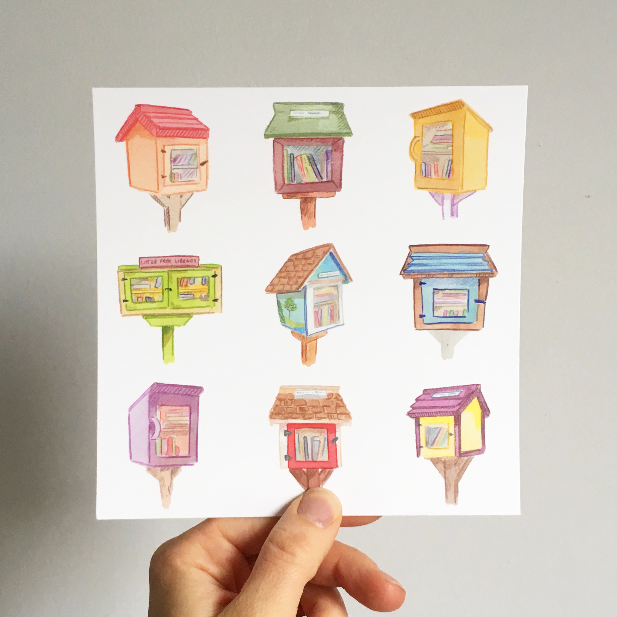 Little free libraries square postcard copy.jpg