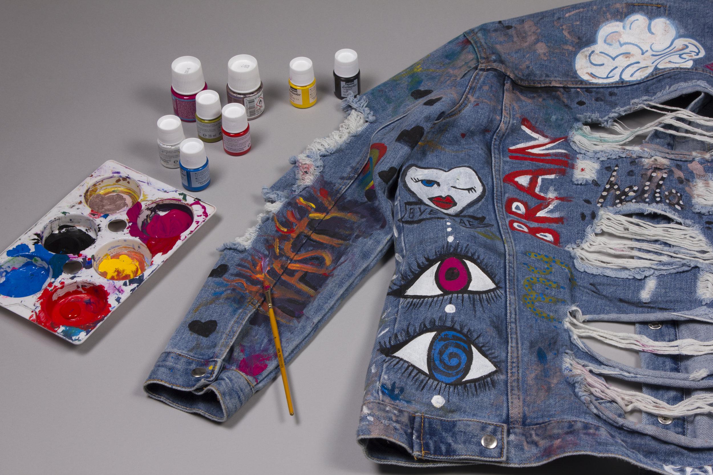 Handmade jacket design
