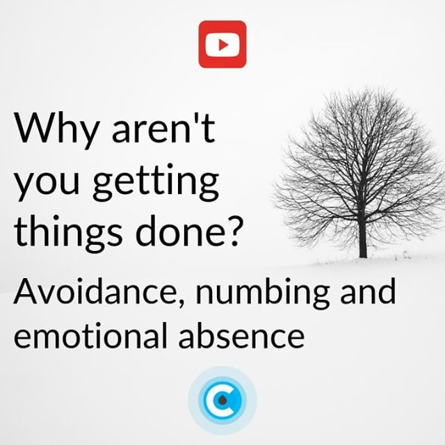 New on YouTube!  Why aren't you getting things done? Avoidance, numbing and emotional absence.  Link in bio.  #lifecoach #lifecoaching #youtube #video #advice #coach #motivation #guidance #inspiration #quote #avoidance #numbing #numb #emotion #brenebrown #courage #itsallchoice #choice #power #personalpower