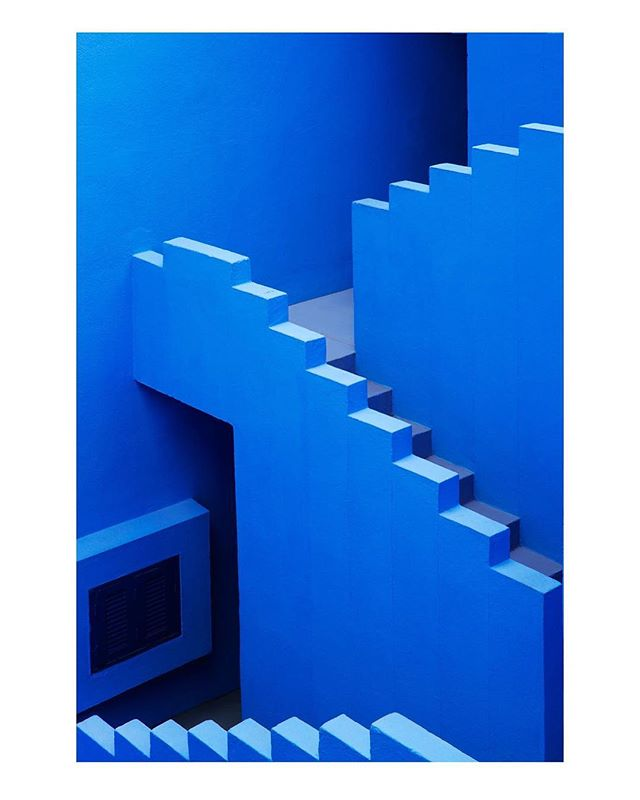 | Déjà vu | Photo: Jeanette Hägglund Architect: Ricardo Bofill  #minimalist #minimalism #minimalmood #minimalzine  #lekkerzine #noicemag #archivecollectivemag #foammagazine #subjectivelyobjective #justifiedmagazine #collecmag  #phroommagazine #lucecurated #ignant #ourmomentum #collateral  #archilovers #archdaily #architecture #architectureporn #architecturephotography #architecturelover #building #abstract #abstractart #blue #bofill