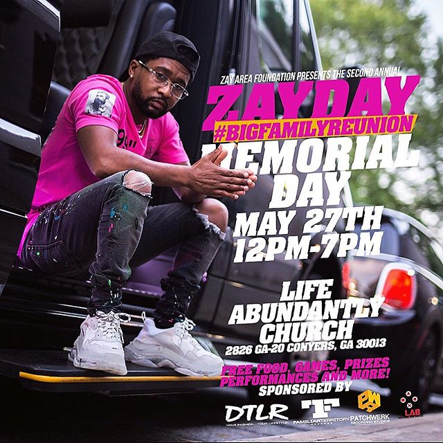 Come kick it with Zay & the fam this holiday weekend 💕. For anybody that isn't aware, @zaytovenbeatz established a charitable organization called @zayareafoundation which provides music education classes and instruments to underserved but deserving young talent, as well as offers financial assistance to qualifying families in need within his community. #doinggoodinthehood #supportlikeyousupportattheclub