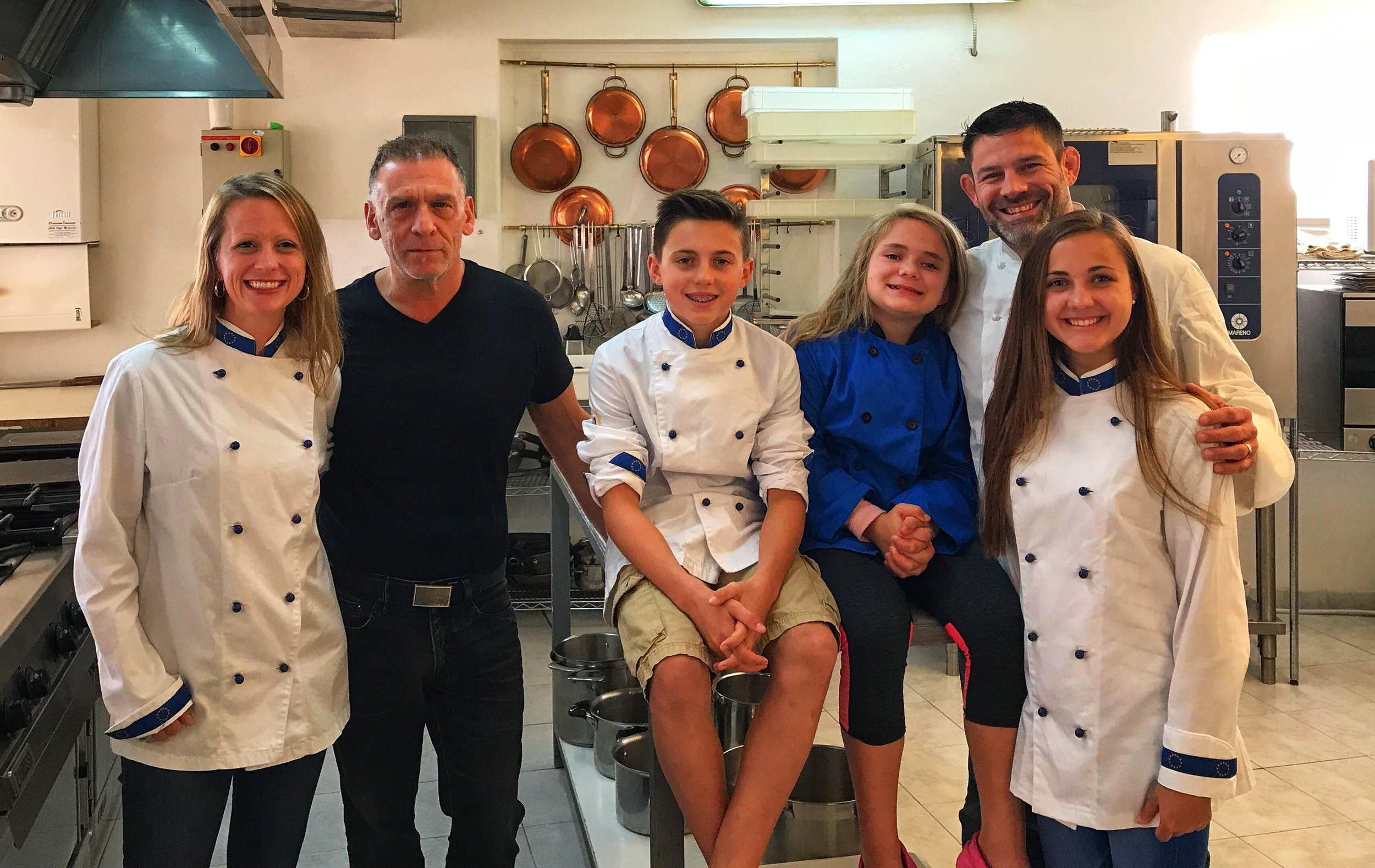 Chef John and family
