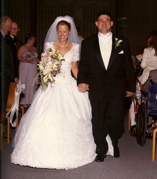 Bill & Christina's Wedding Day July 22, 2000