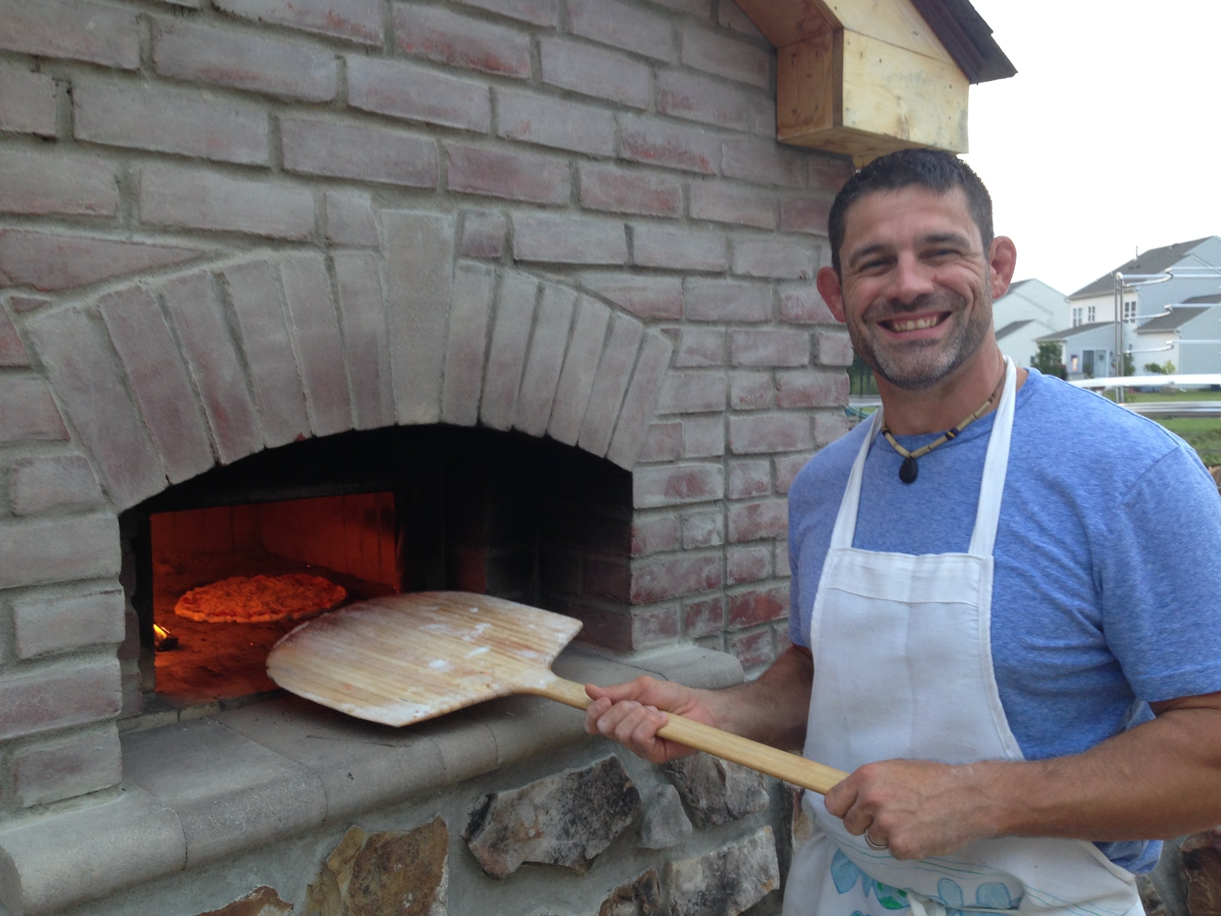 Our bread oven is one of my favorite things I have built for the family