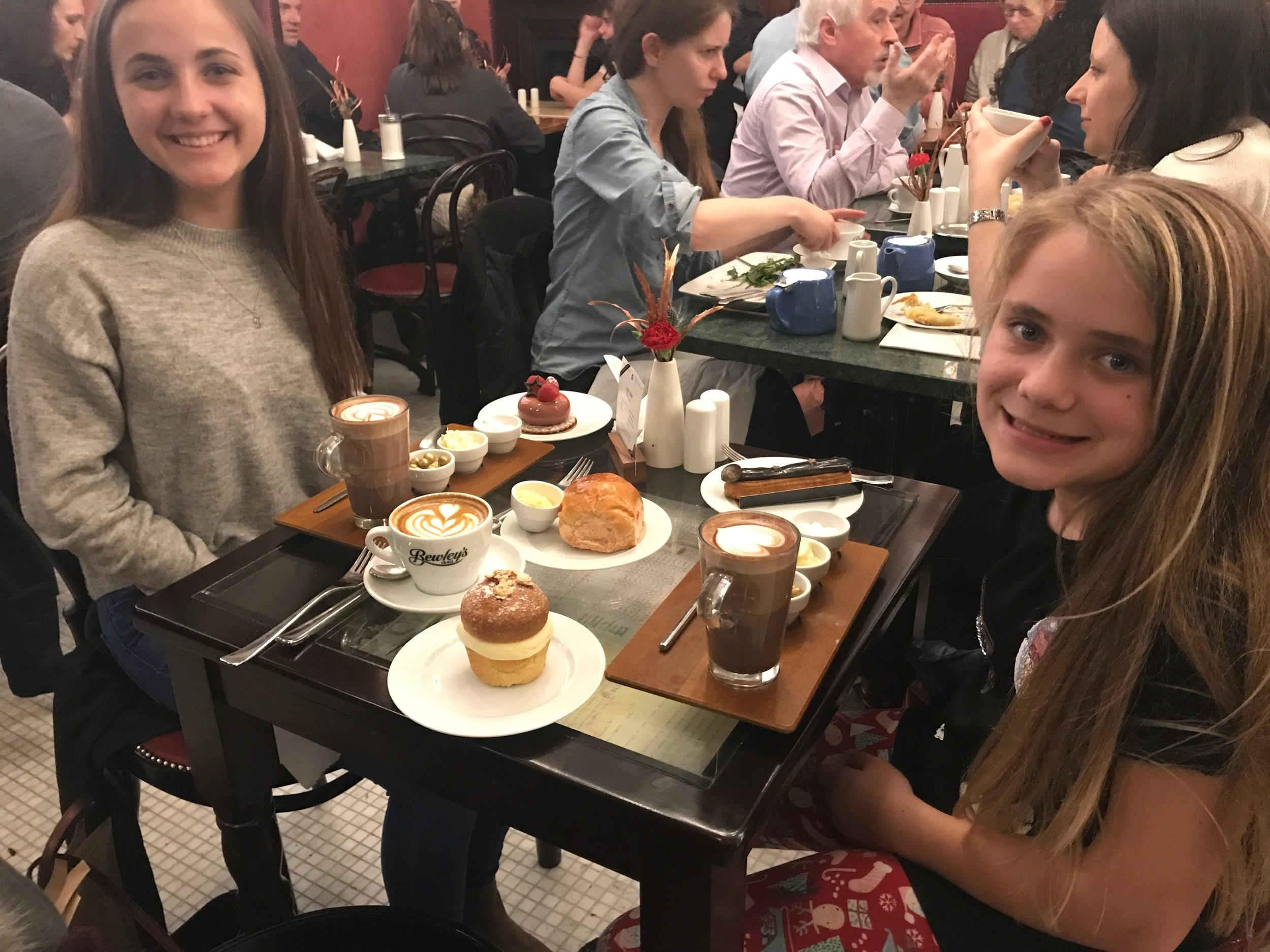 An extra special sweet treat with my ladies!