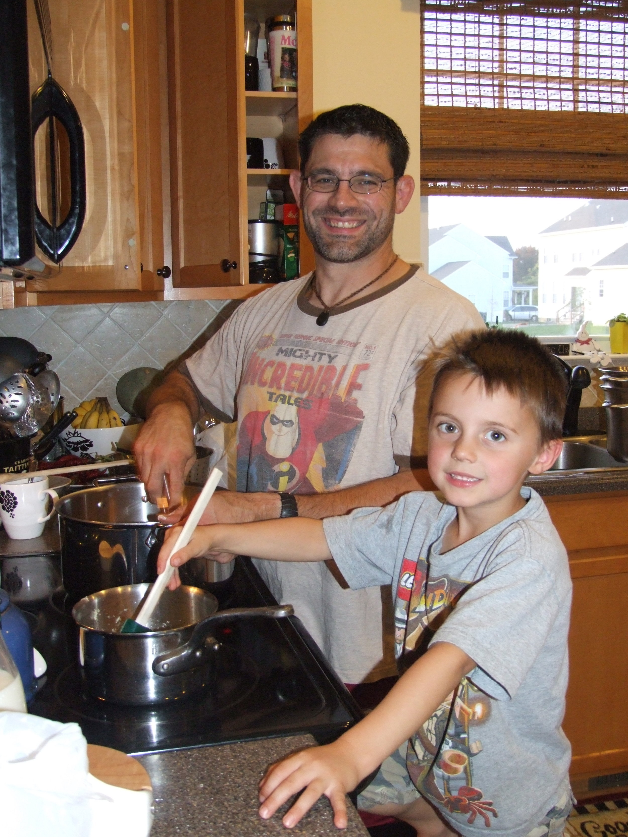 Cooking at a young age