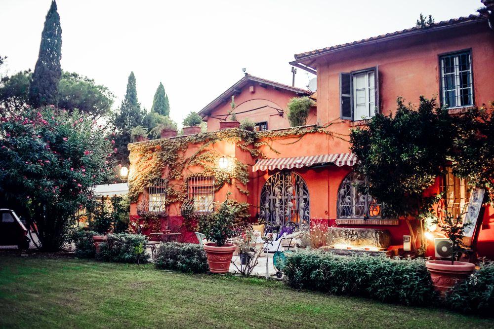 front villa
