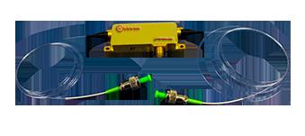 Fiber-coupled Acousto-Optic Modulators