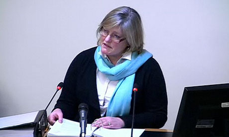 Mail Lawyer Liz Hartley at Leveson