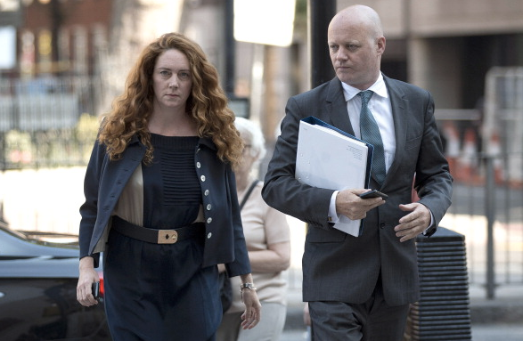Rebekah Brooks and lawyer Angus McBride
