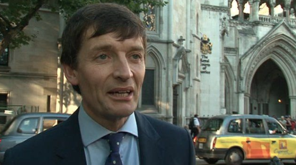 'Joker': Mirror lawyer Marcus Partington, who was allegedly jocular about phone hacking