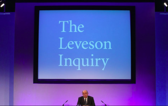 Public Inquiry: Lord Justice Brian Leveson examined Press ethics