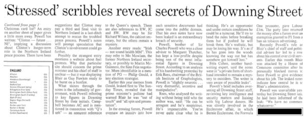 A story too far: stolen domestic scribblings made it into Murdoch broadsheet