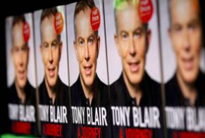 A Journey: Tony Blair's memoir. Pic, Getty