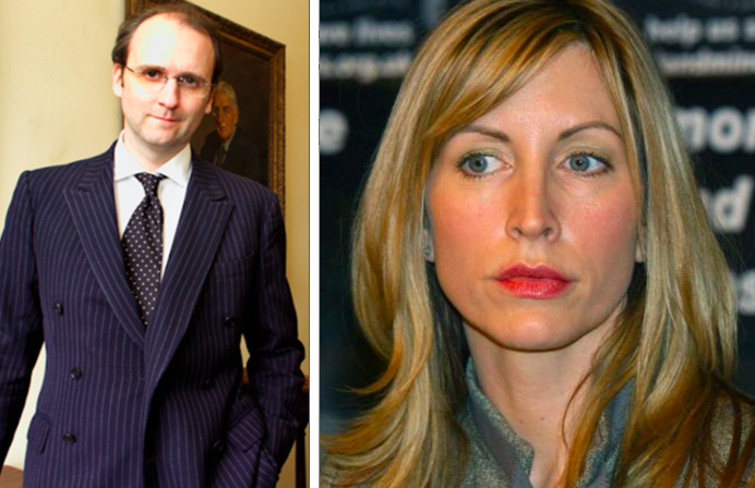 Platonic: Ben Noakes and Heather Mills worked on book together (c) Ben Noakes/ PA