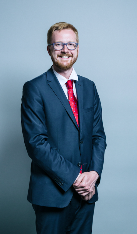 Labour MP  Lloyd Russell-Moyle.  (c) Chris McAndrew