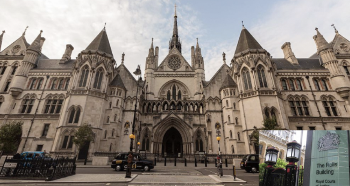 Sued: Brooks has been named in a case lodged at the Royal Courts of Justice (inset Rolls Building)