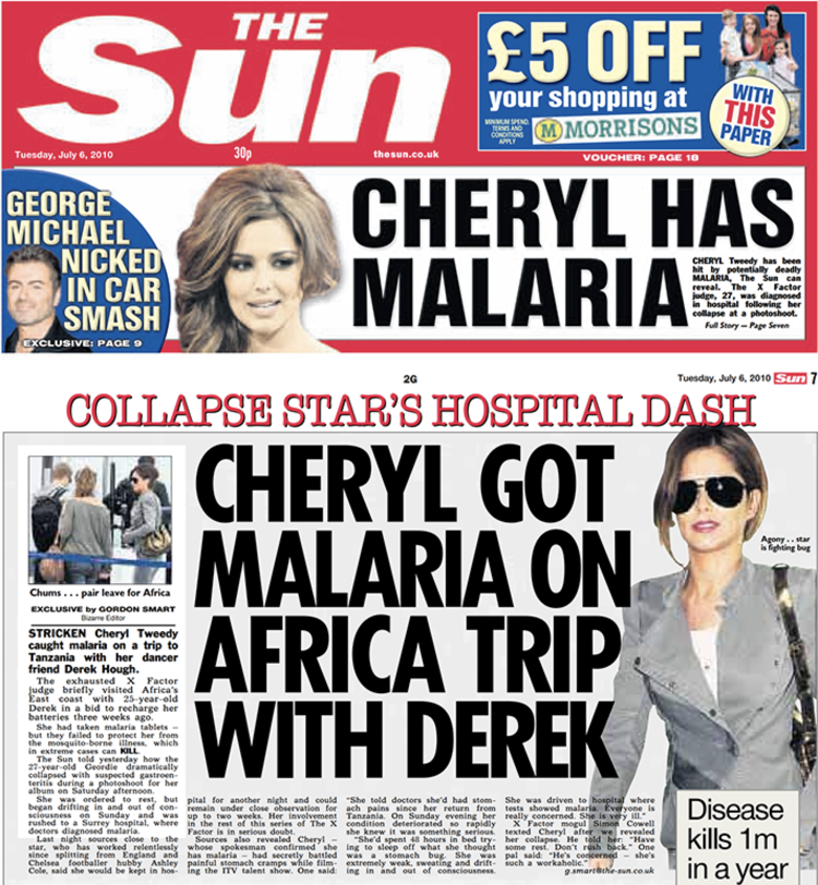 Medical: How  The Sun  revealed details of Ms Tweedy's hospital care, while at the same time its sister title the  News of the World  is alleged to have been hacking her phone