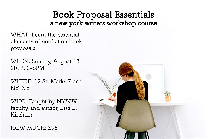 New Events — New York Writers Workshop