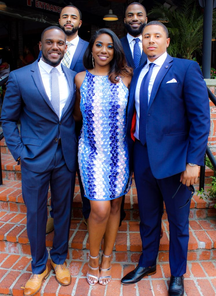 Sydney Chandler, Founder and Creative Director of Baddie Brunch, and the Baddie Beauxs. The gentlemen help women get escorted to their seats, drink refills, and other tasks to help the guests have an elevated expereience.