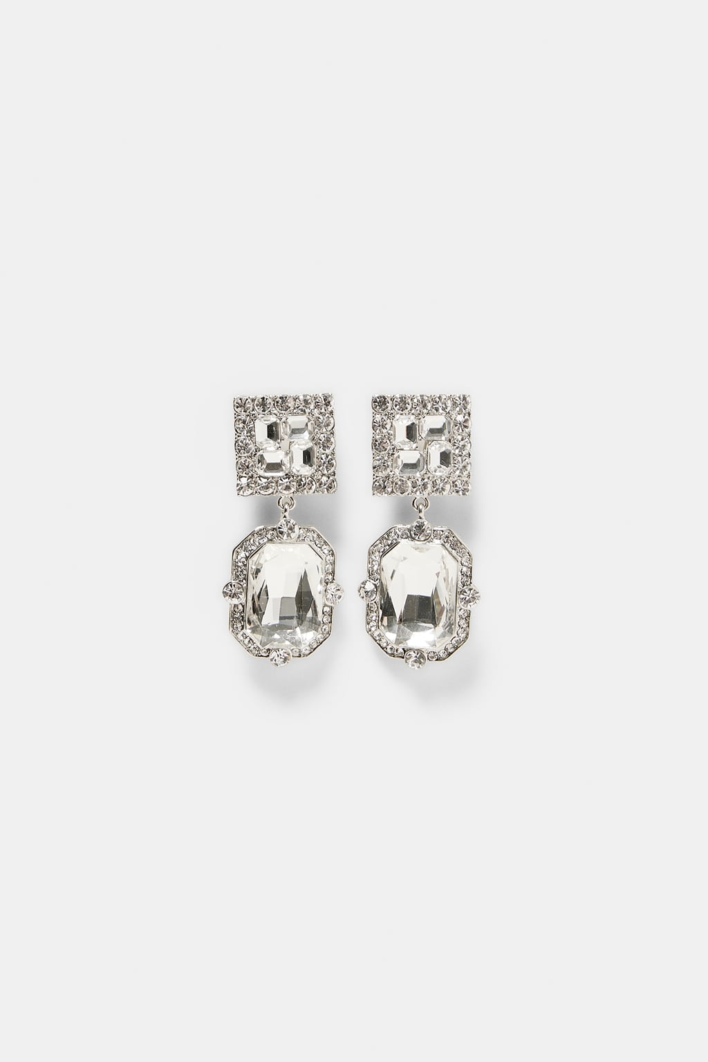 ZARA Jewel Earrings- $19.99