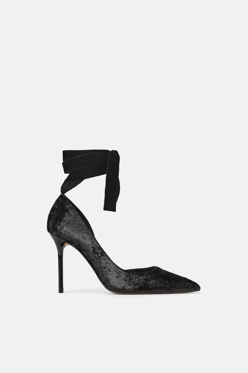 ZARA Shiny High Heel- $69.90