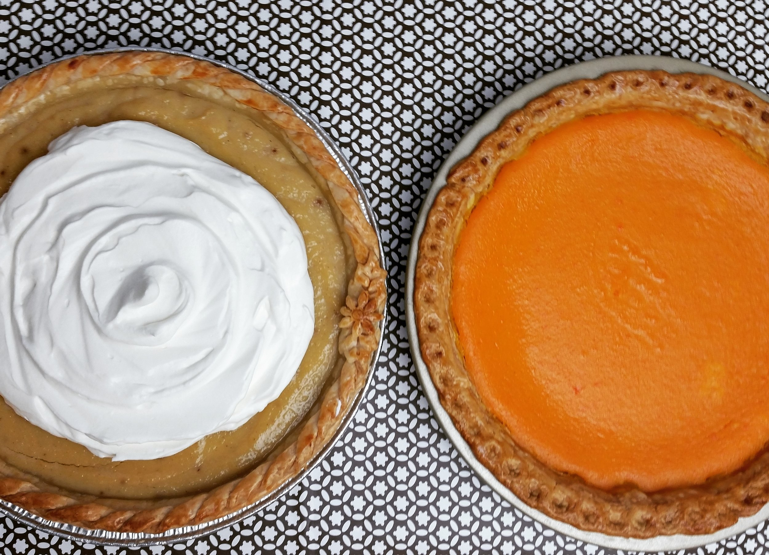 Parsnip Pie and Carrot Pie