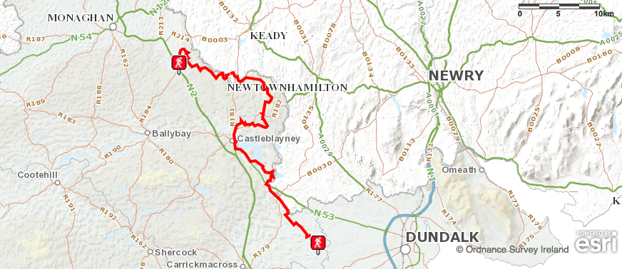 monaghan trail overview