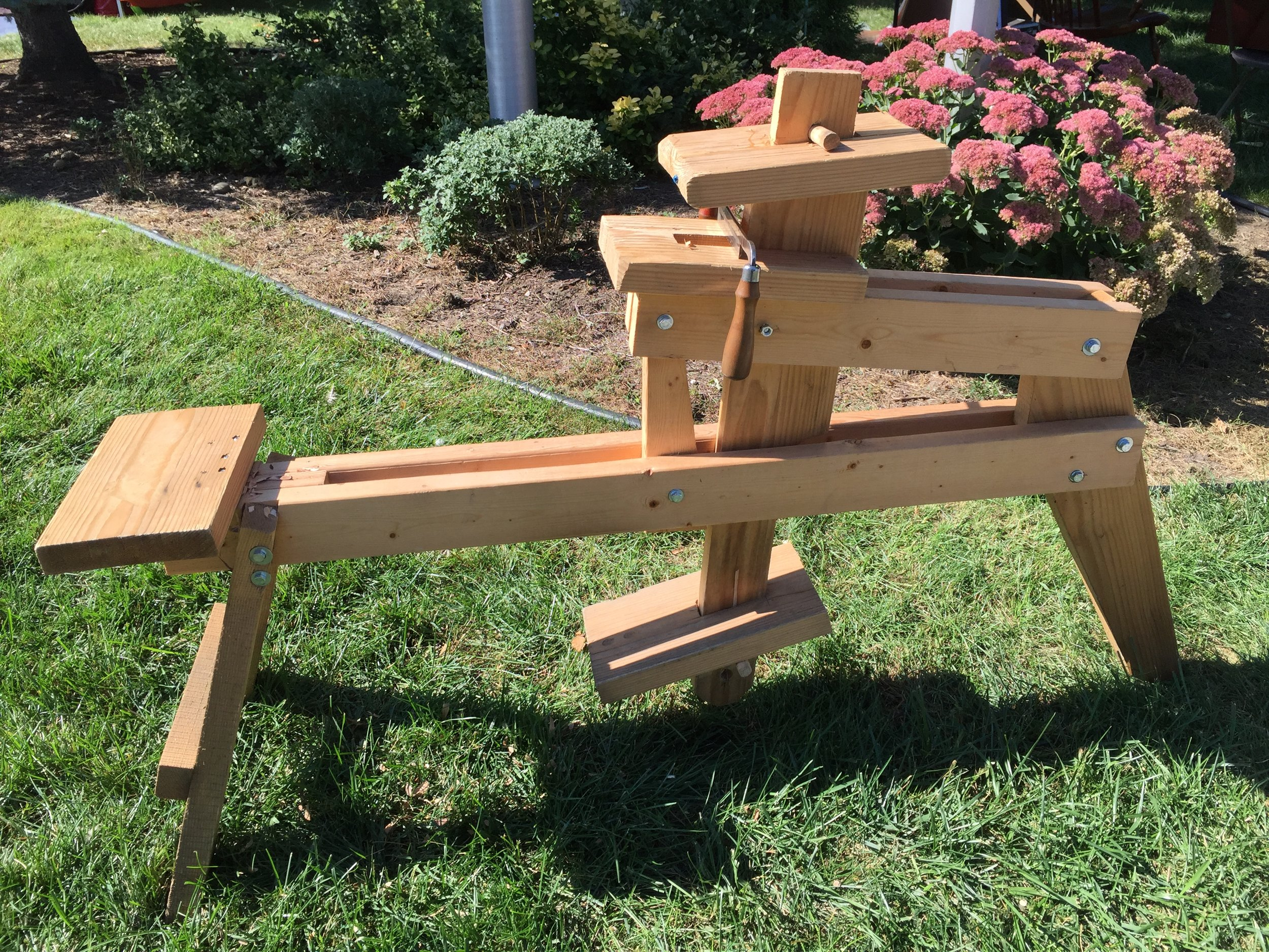 Woodworking Shave Horse Instructions