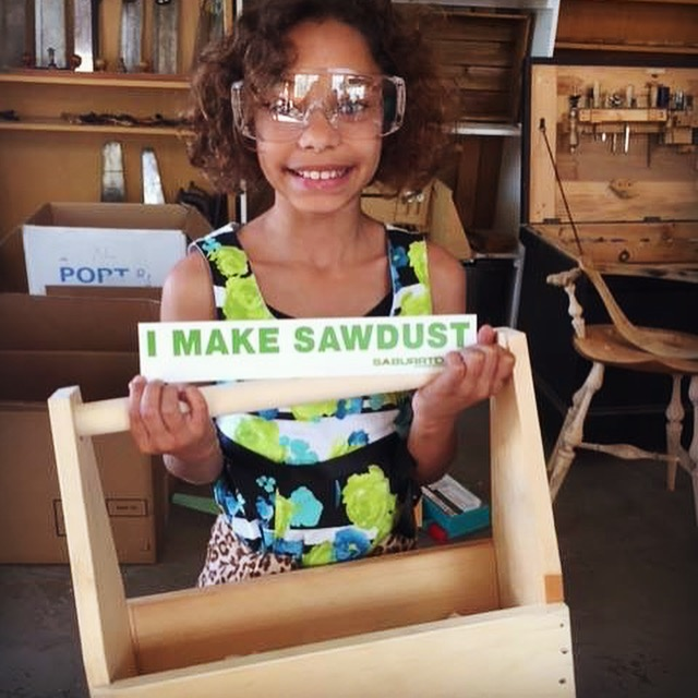 Kids wood shop programs - learn woodworking at the Sam Beauford Woodworking Institute