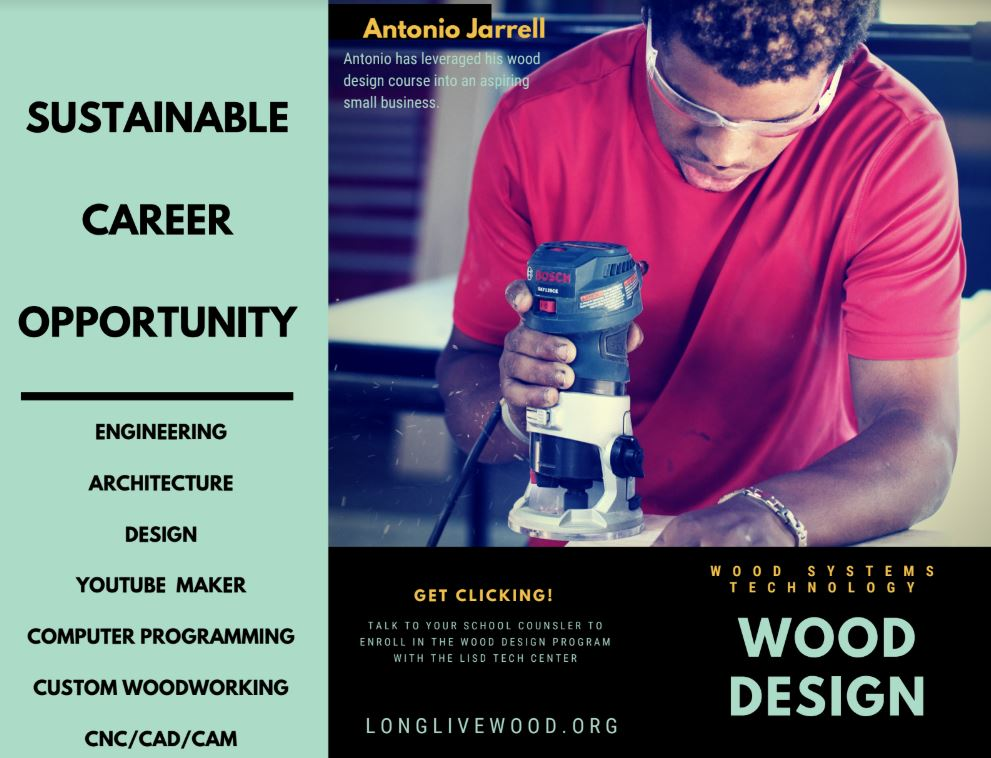Wood Design program at Sam Beauford Woodworking Institute in Adrian, MI
