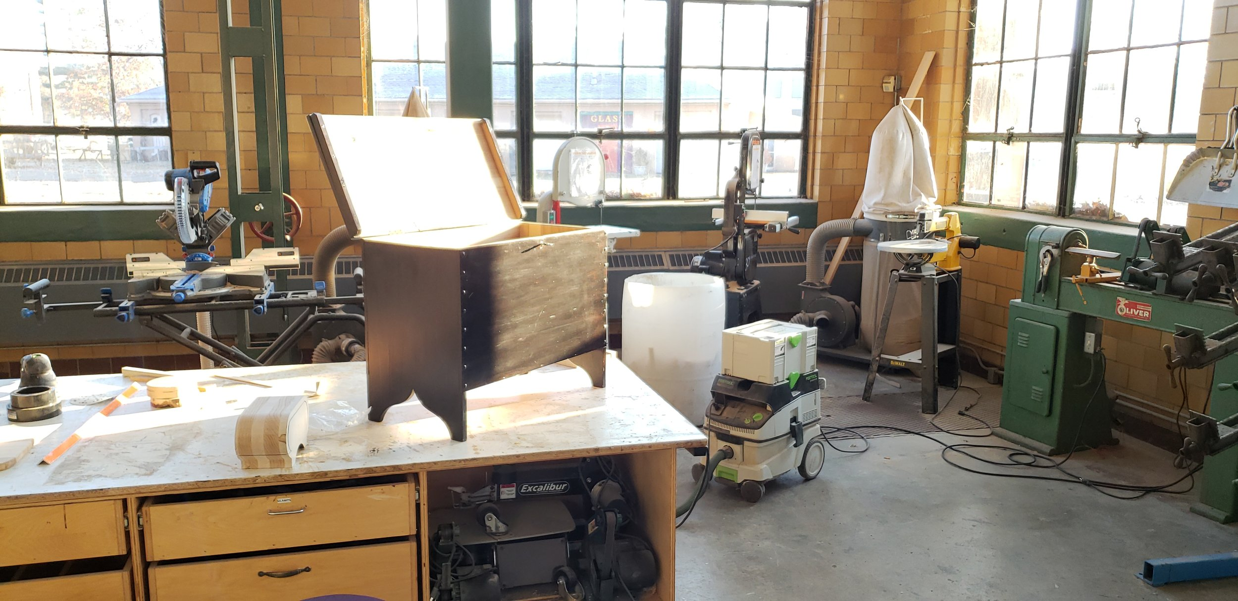 Woodworking classes - Michigan, Ohio, Indiana, Northeast USA