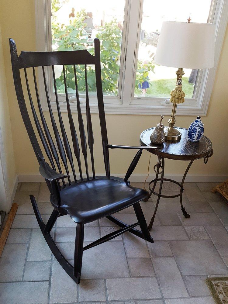 Modern Windsor Rocking Chair Woodworking Classes with Luke A. Barnett