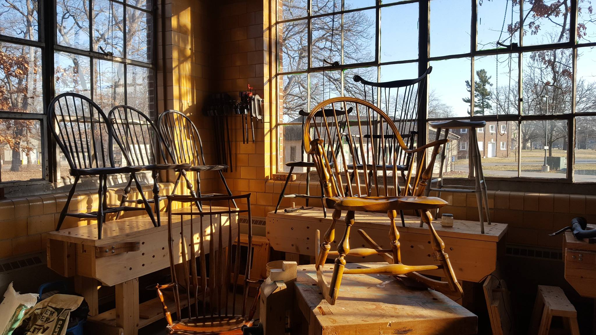 Windsor Chair Classes Sam Beauford Woodworking Institute