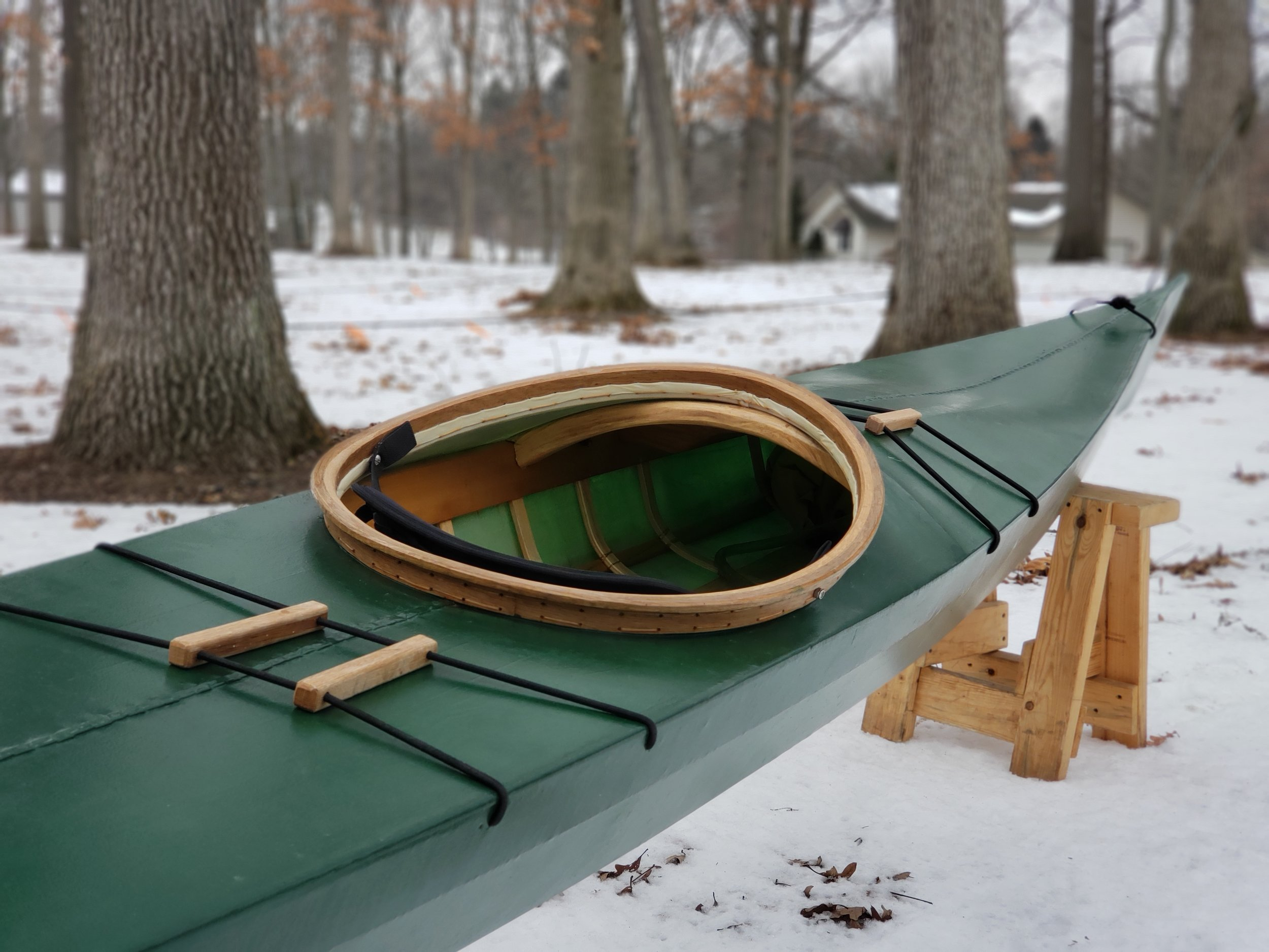 Build a Greenland Kayak - Woodworking Classes at the Sam Beauford Woodworking Institute