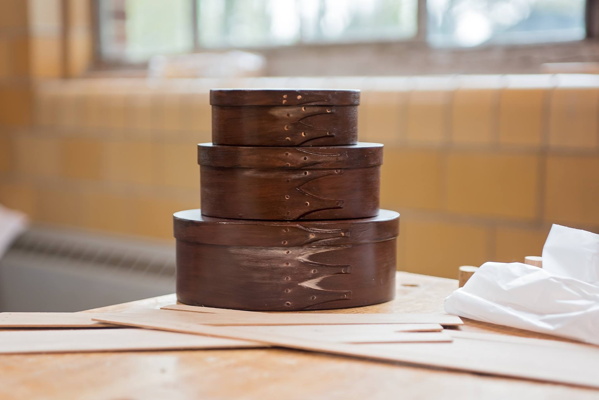Shaker Oval Box Woodworking Classes - Learn the art of steam bending wood