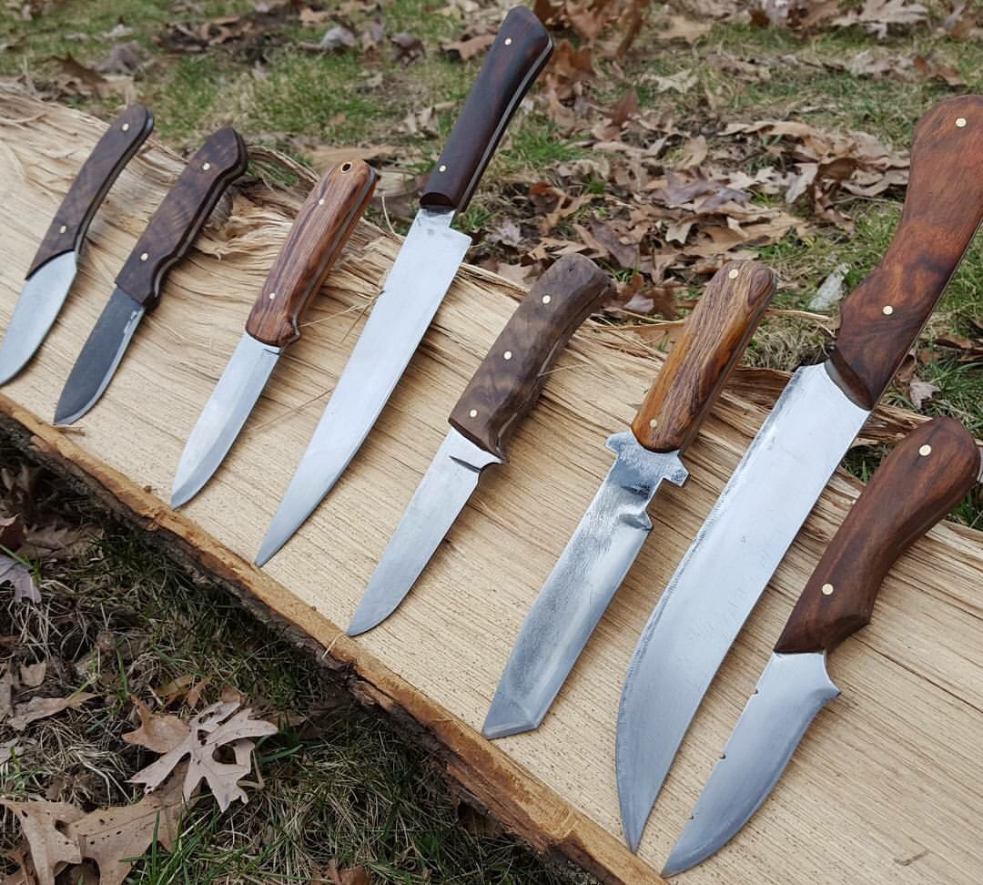 Forge a Handmade Knife Classes at the Sam Beauford Woodworking Institute