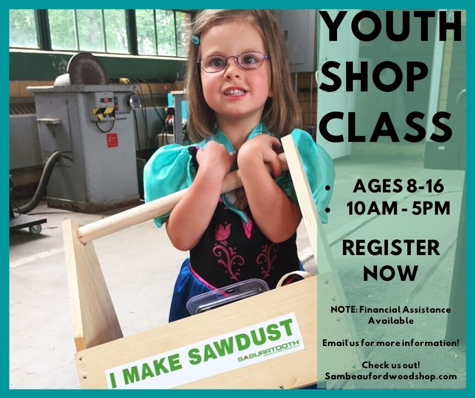 Youth Shop Class Sam Beauford Woodworking Institute