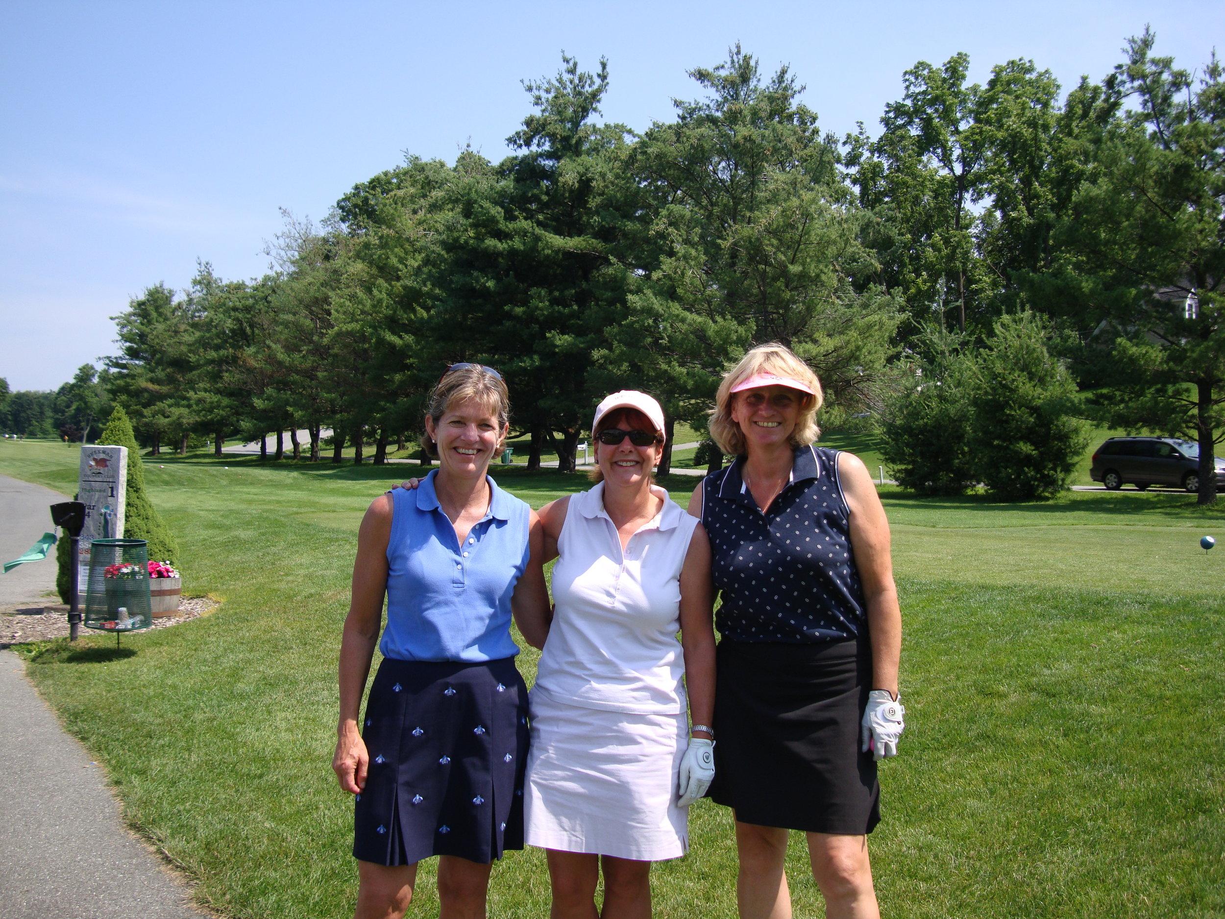 Susan, Trish and Gill