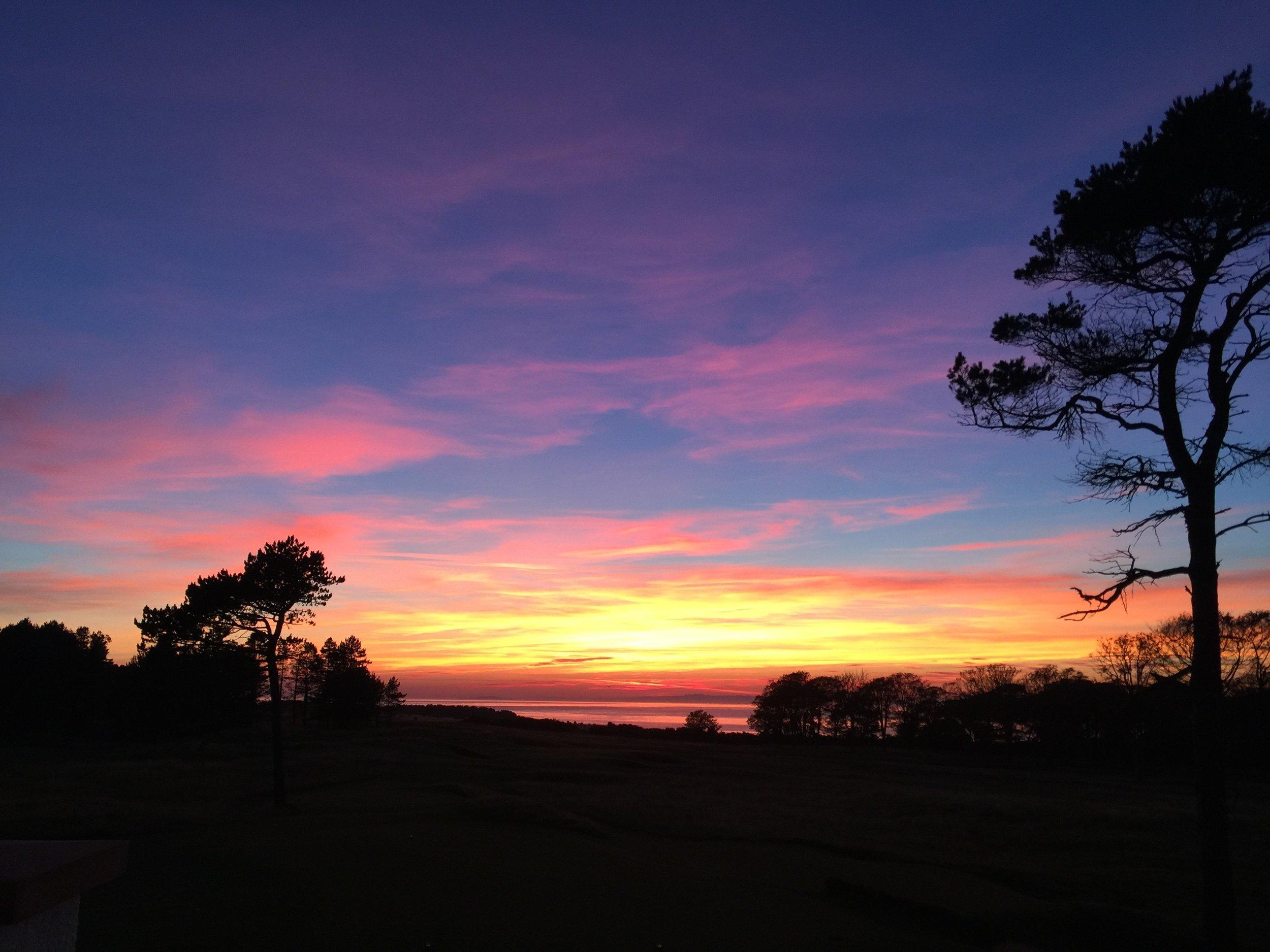 Equally amazing sunsets.