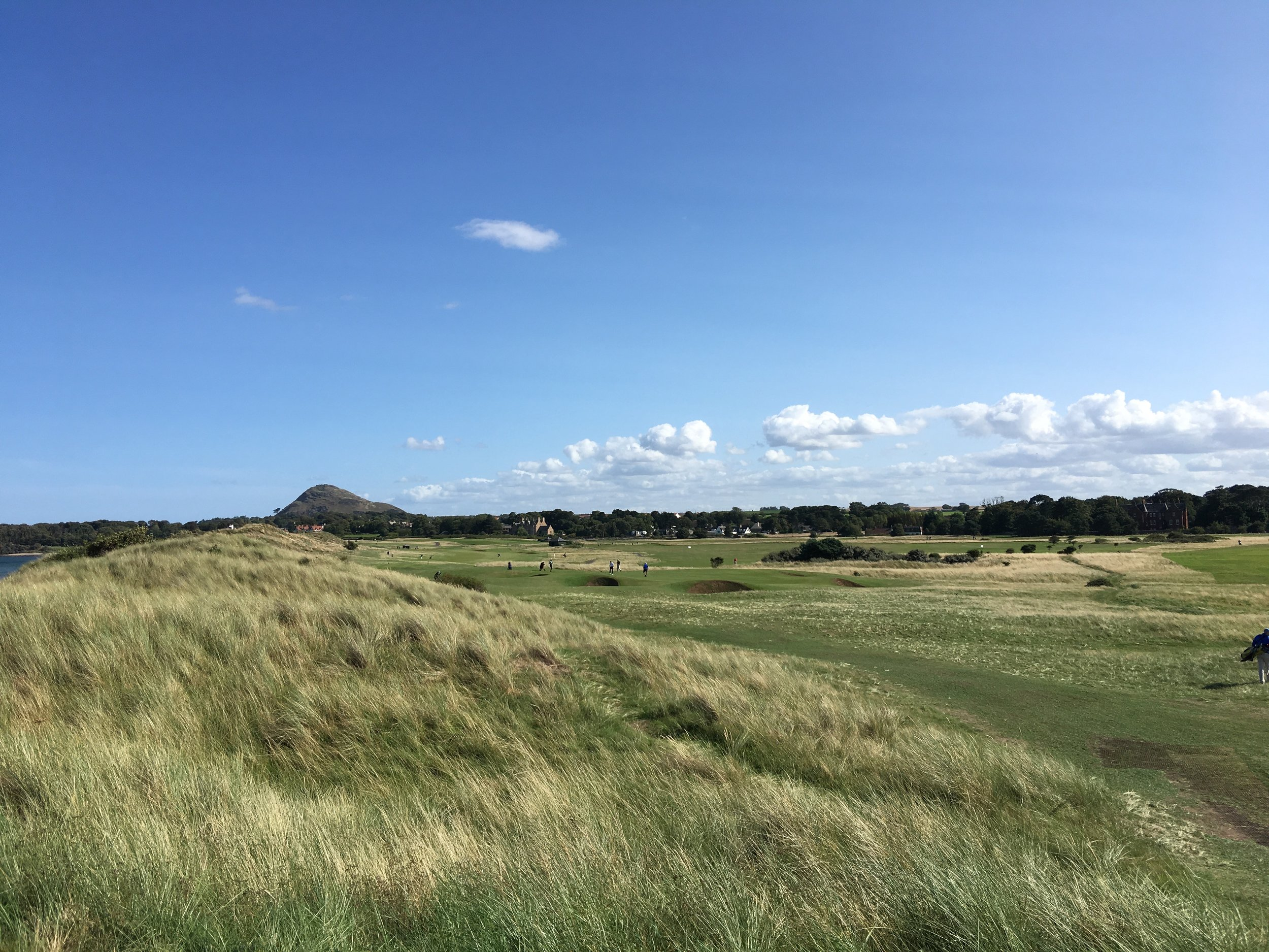 Lovely view back from the 11th tee.