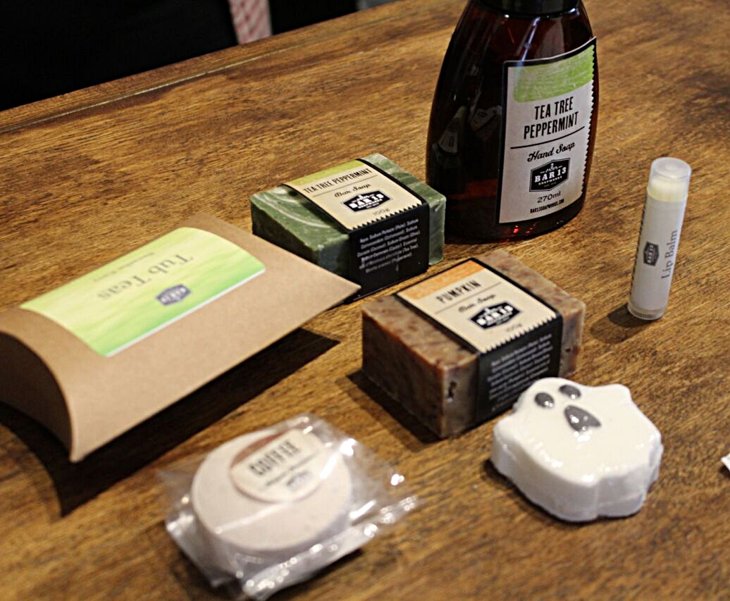 Hunting for products at Bar 13 Soap Works