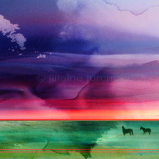 jillaine-art-Majestic-Spirits-48-x-48-painted-original-photography-contemporary-abstract-wild-horses-purple-red-green-225x225.jpg